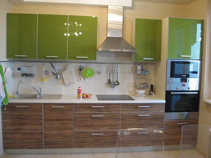 Дизайн кухня пластик фото